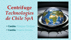 Centrifuge Technologies de Chile SpA
